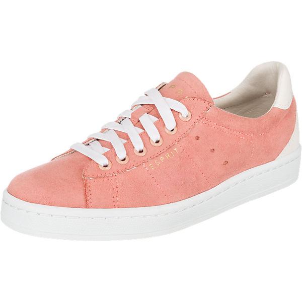 ESPRIT Gwen Fuzzy Sneakers rosa