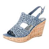 MARCO TOZZI Siesta Sandaletten blau