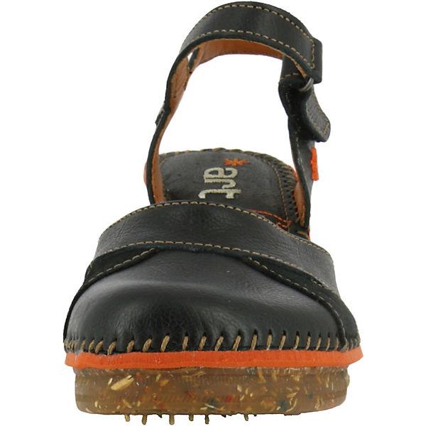Sandaletten Klassische Amsterdam Memphis schwarz Black 0313 wgYpv