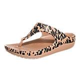 CROCS Sloane Leopard Pantoletten