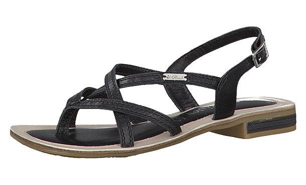 oliver sandaletten schwarz im shop von mirapodo mirapodo. Black Bedroom Furniture Sets. Home Design Ideas