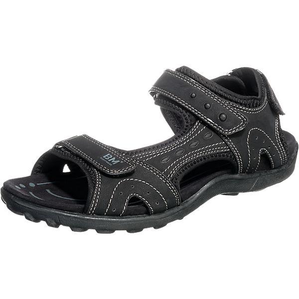 Supremo Sandalen schwarz