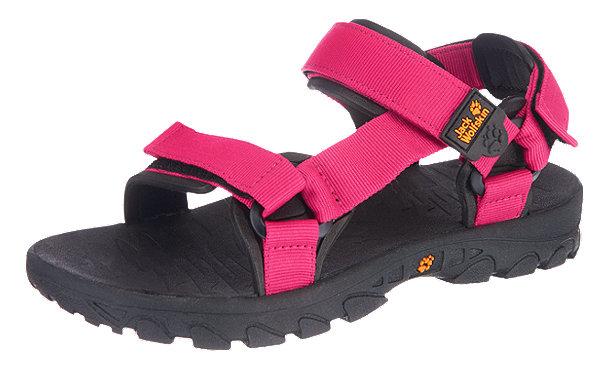 jack wolfskin seven seas outdoor sandalen sandalen pink im. Black Bedroom Furniture Sets. Home Design Ideas