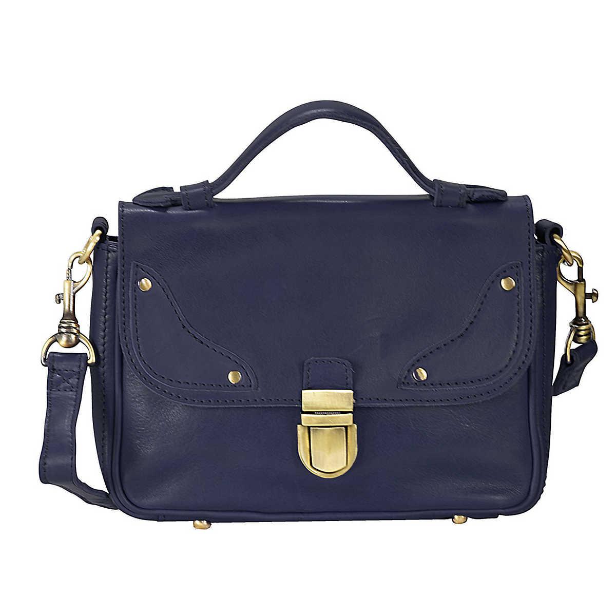 Gr�¤s|chen Retrocharme Fr�¤ulein Anni Umh�¤ngetasche Leder 25 cm blau - Gr�¤s|chen - Clutch & Abendtaschen - Taschen - mirapodo.de