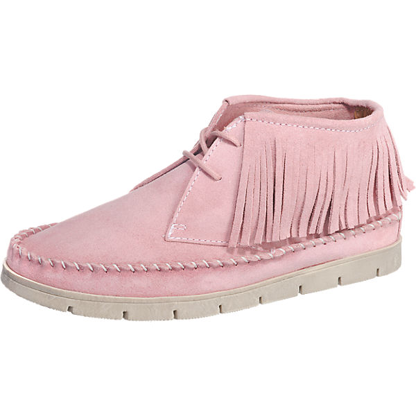 Double You Stiefeletten rosa
