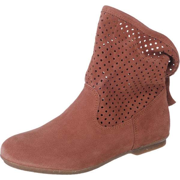 Apple of Eden Bianca Stiefeletten cognac