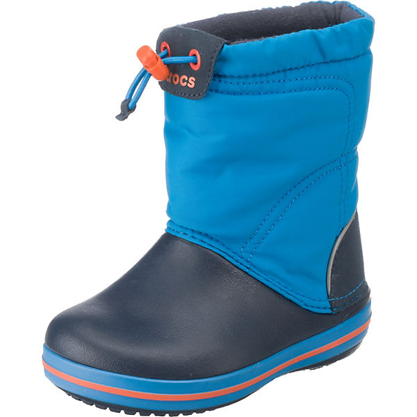 crocs kinder winterstiefel crocband lodgepoint boot blau mirapodo. Black Bedroom Furniture Sets. Home Design Ideas