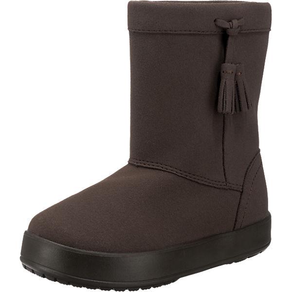 crocs kinder winterstiefel lodge point boot braun mirapodo. Black Bedroom Furniture Sets. Home Design Ideas