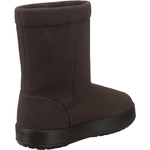 crocs kinder winterstiefel lodge point boot braun mirapodo. Black Bedroom Furniture Sets. Home Design Ideas