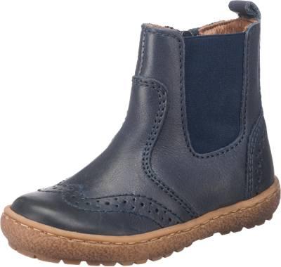 bisgaard kinder chelsea boots lederfutter dunkelblau. Black Bedroom Furniture Sets. Home Design Ideas
