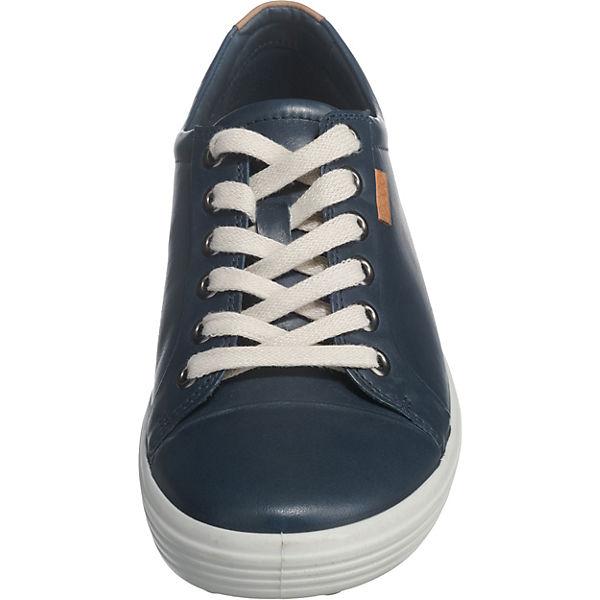 ecco Soft 7 Sneakers blau