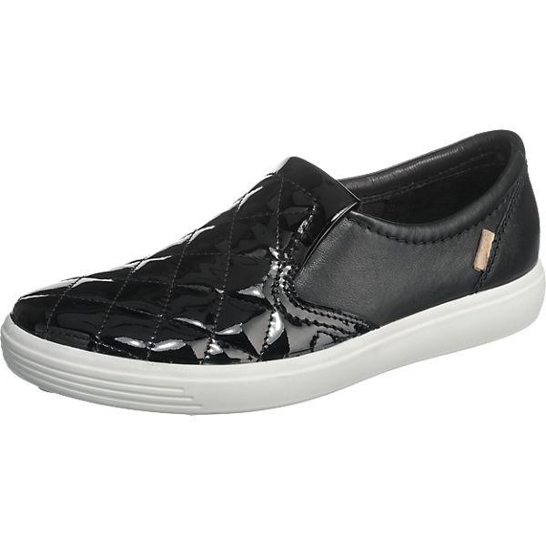 ecco Soft 7 Sneakers schwarz
