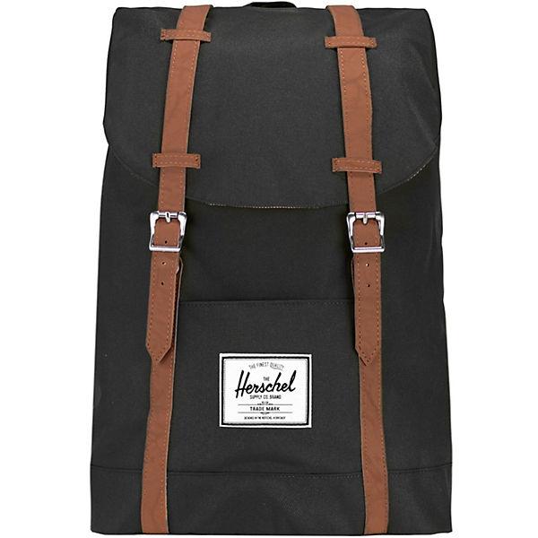 Herschel Retreat Backpack Rucksack 42 cm Laptopfach schwarz