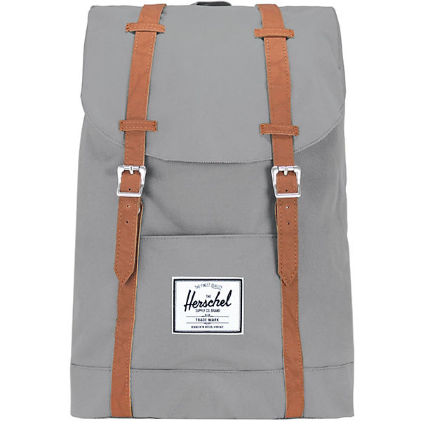 Herschel Retreat Backpack Rucksack 42 cm Laptopfach grau
