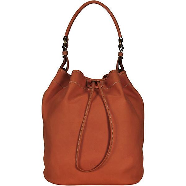 Bree Stockholm 27 Handtasche Leder 26 cm orange