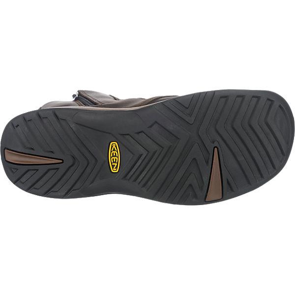 KEEN Reisen Zip Waterproof Stiefel braun