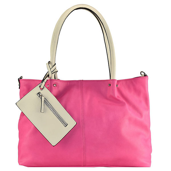 Maestro Surprise Bag in Bag Shopper Tasche 45 cm pink