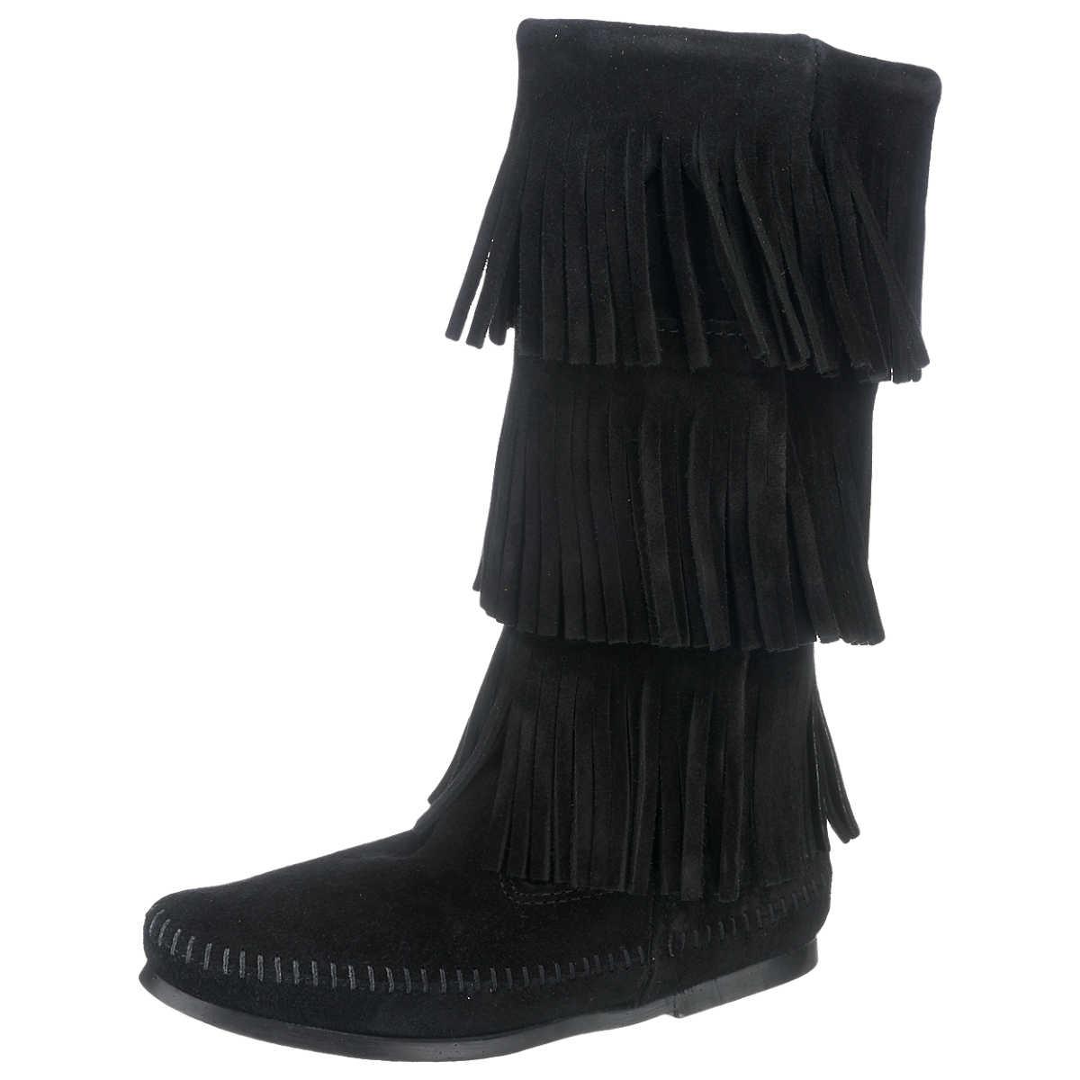 Minnetonka Stiefel schwarz - Minnetonka - Stiefel - Schuhe - mirapodo.de