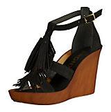 BRONX Sandaletten schwarz