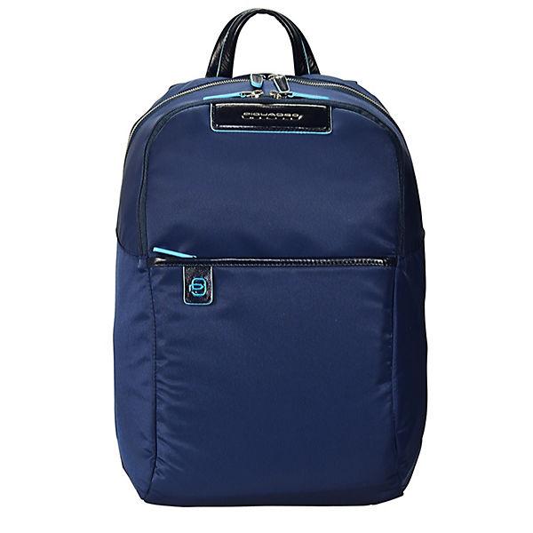 Piquadro Celion Rucksack 39 cm Laptopfach blau