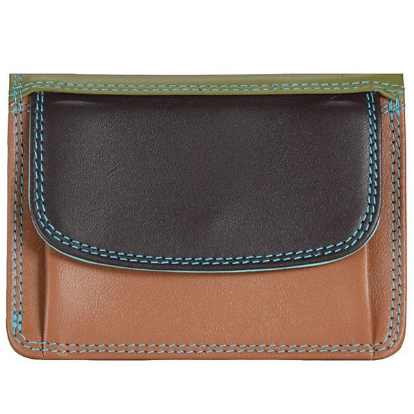 Mywalit Small Tri-fold Wallet Geldbörse Leder 8 cm mehrfarbig