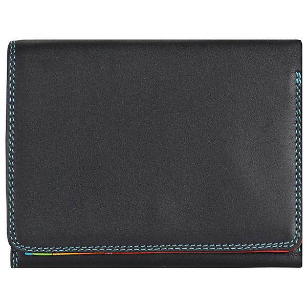 Mywalit Medium Tri-fold Wallet Geldbörse Leder 12 cm mehrfarbig