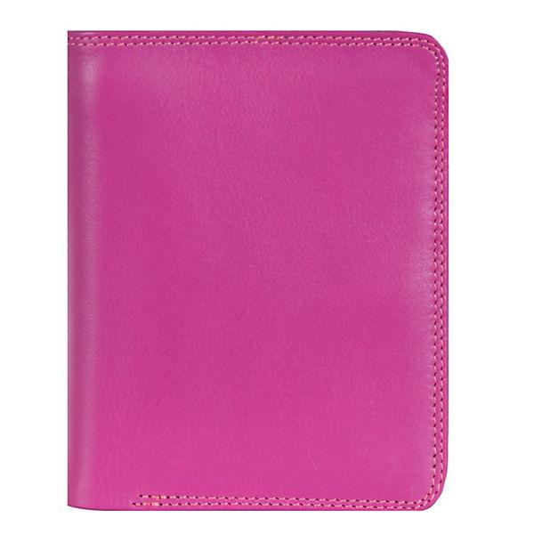 Mywalit Medium Wallet Geldbörse Leder 11 cm mehrfarbig