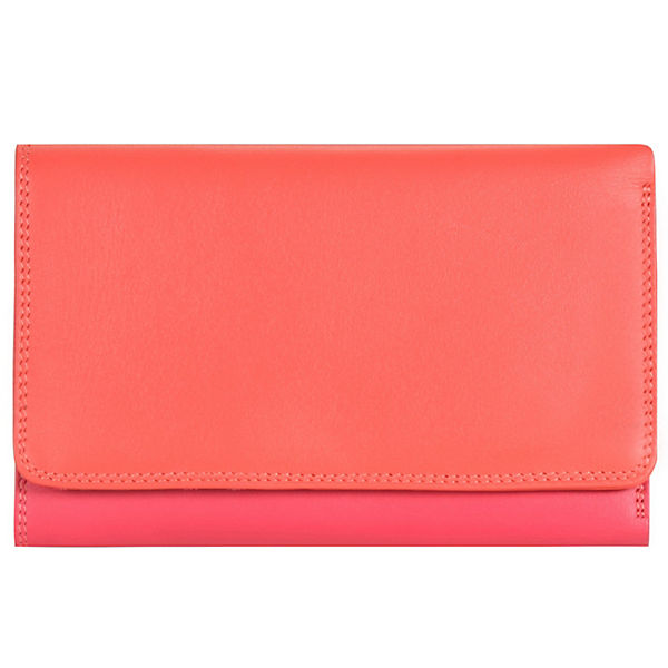 Mywalit Medium Tri-fold Geldbörse Leder 14 cm mehrfarbig
