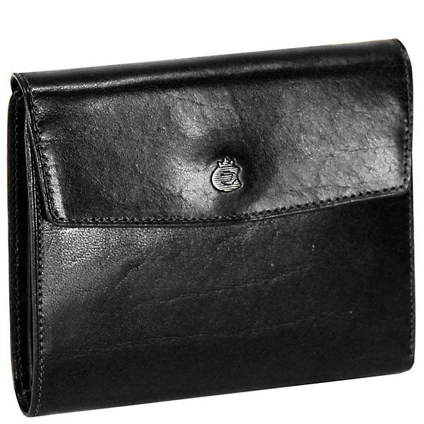 Esquire Toscana Damengeldbörse Leder 12,5 cm schwarz