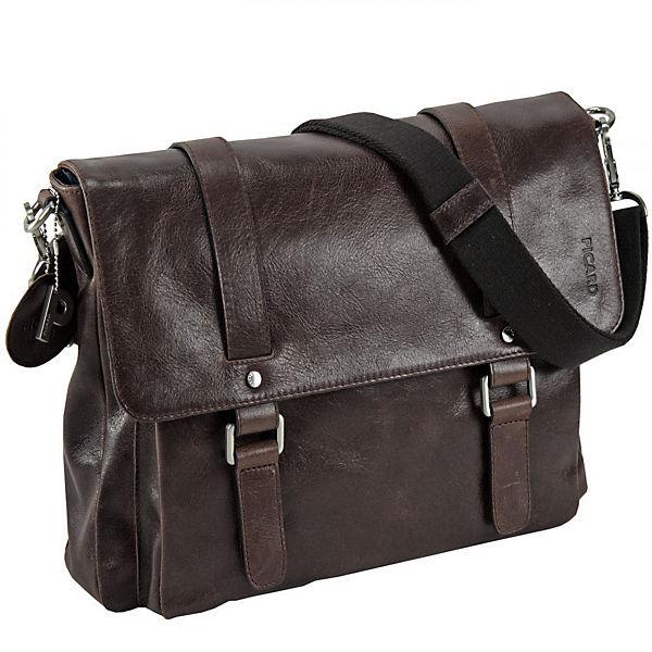 PICARD Buddy Business-Tasche Leder 37 cm braun