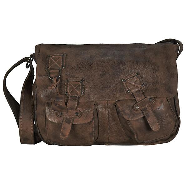 Billy the Kid Panamerica Messenger Bag Leder 40 cm braun