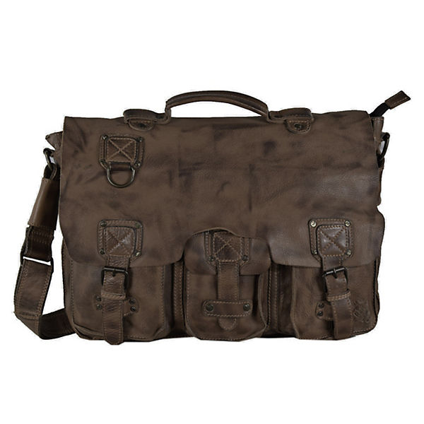 Billy the Kid Panamerica Messenger Bag Leder 41 cm braun