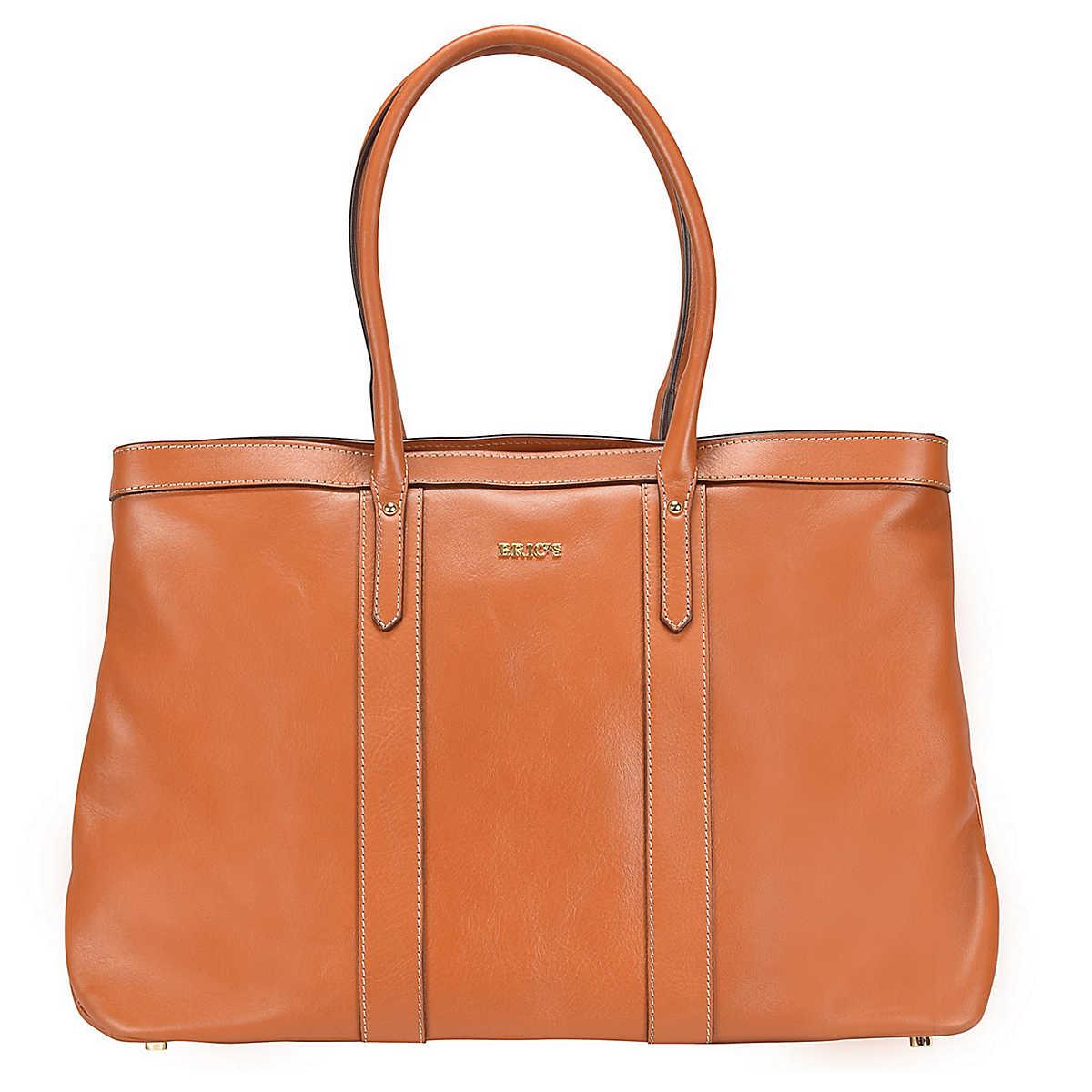 Bric�´s Life Pelle Shopper Tasche Leder 43 cm braun - Bric�´s - Shopper - Taschen - mirapodo.de