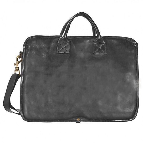 Campomaggi Milan Aktentasche Leder 43 cm Laptopfach schwarz