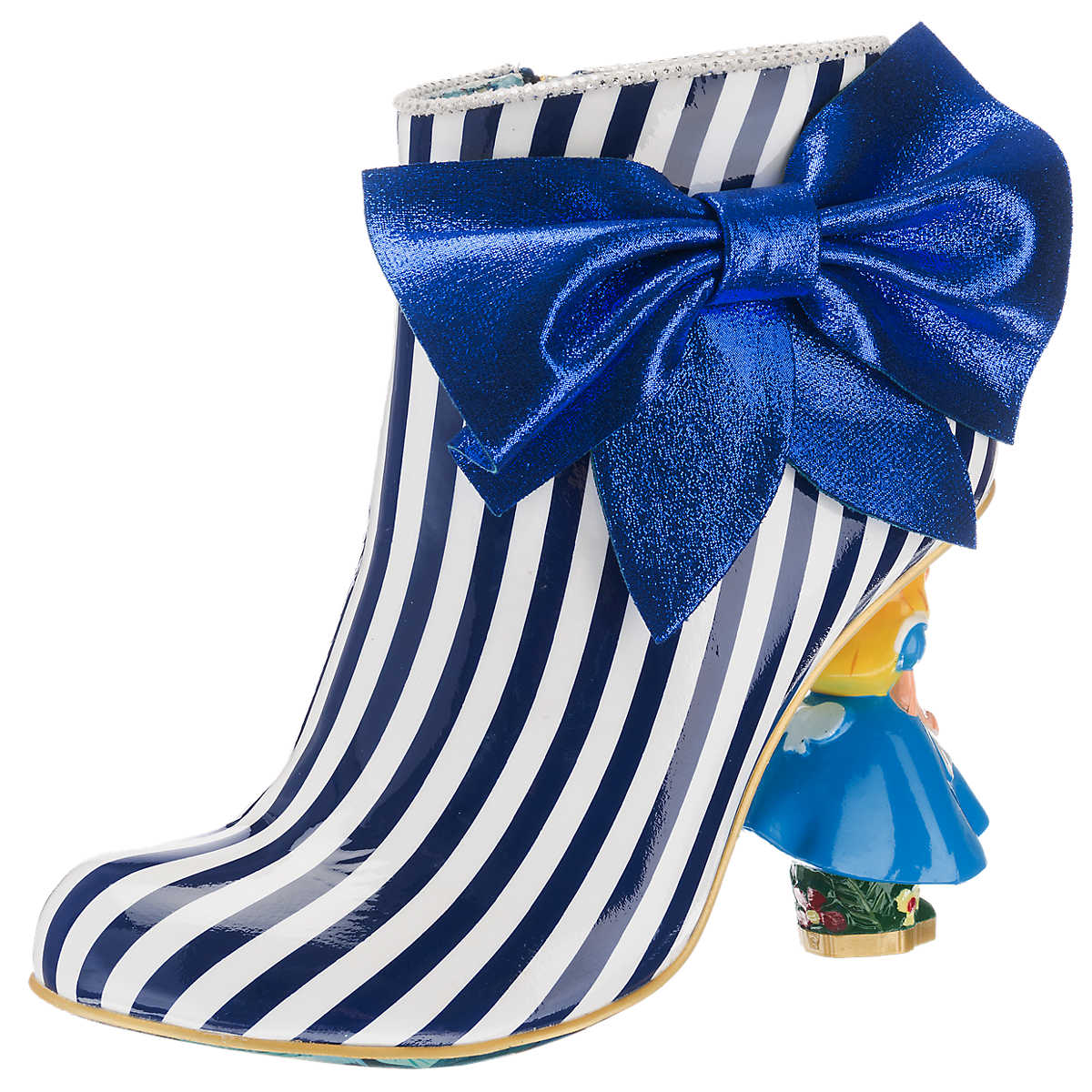Irregular Choice Who in the World am I? Stiefeletten blau-kombi - Irregular Choice - Stiefeletten - Schuhe - mirapodo.de