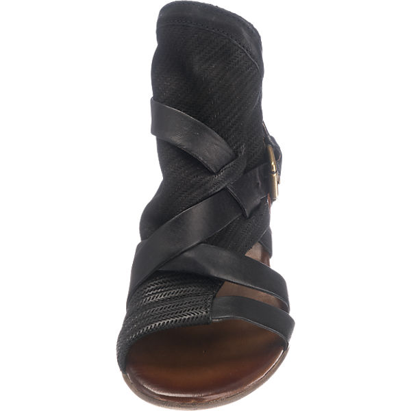 Martina Buraro Candle Sandaletten schwarz Modell 1