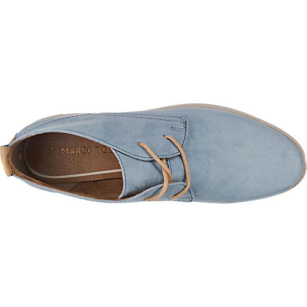 MARCO TOZZI Bacone Stiefeletten blau