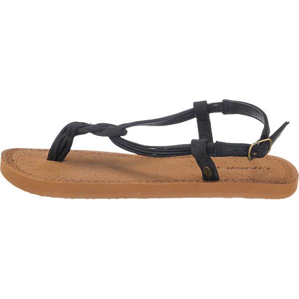O'NEILL Fw Braided Ditsy Sandal Sandaletten schwarz