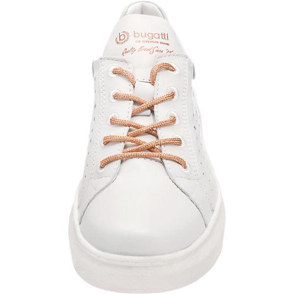 bugatti Pamina Sneakers weiß