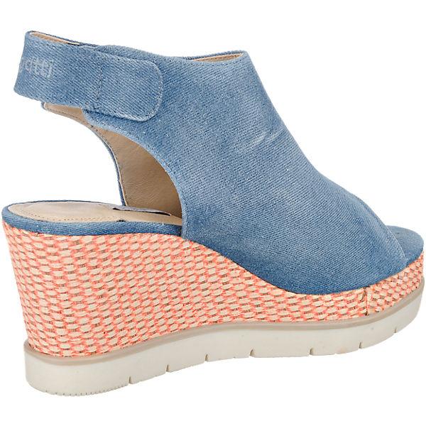 bugatti bugatti aura sandaletten blau mirapodo. Black Bedroom Furniture Sets. Home Design Ideas