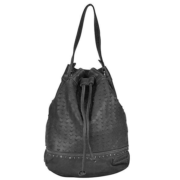 Taschendieb Handtaschen grau