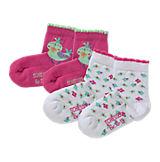 Baby Strümpfe Doppelpack für Mädchen