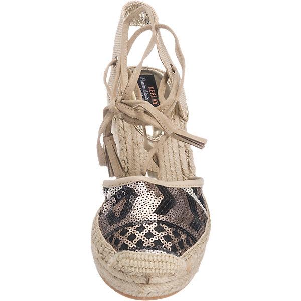 REPLAY Cherna Sandaletten beige-kombi