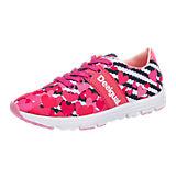 Sneakers für Mädchen pink/marine