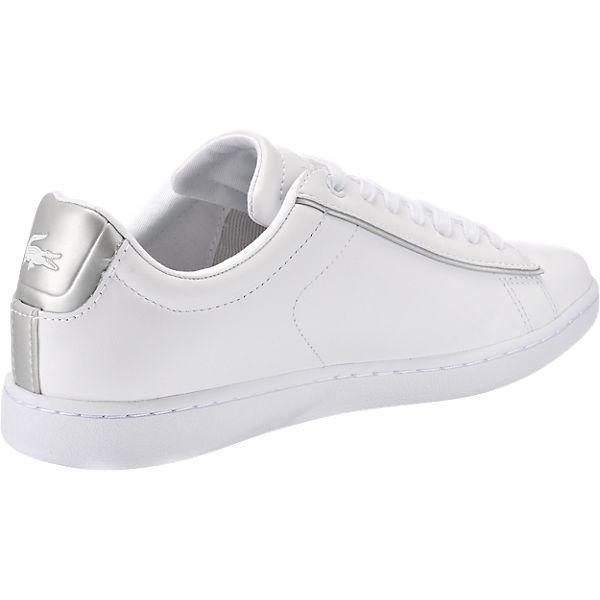 LACOSTE CARNABY EVO 217 2 SPW WHT/LT GRY Sneakers weiß-kombi