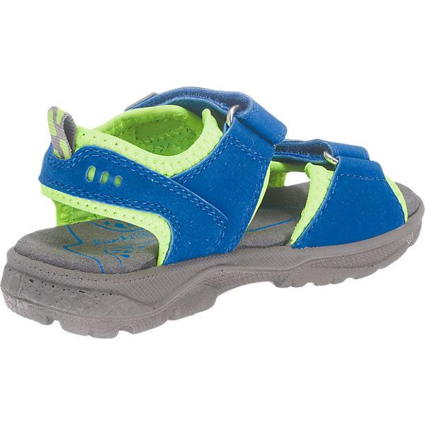 lurchi kinder sandalen weite w f r breite f e blau. Black Bedroom Furniture Sets. Home Design Ideas
