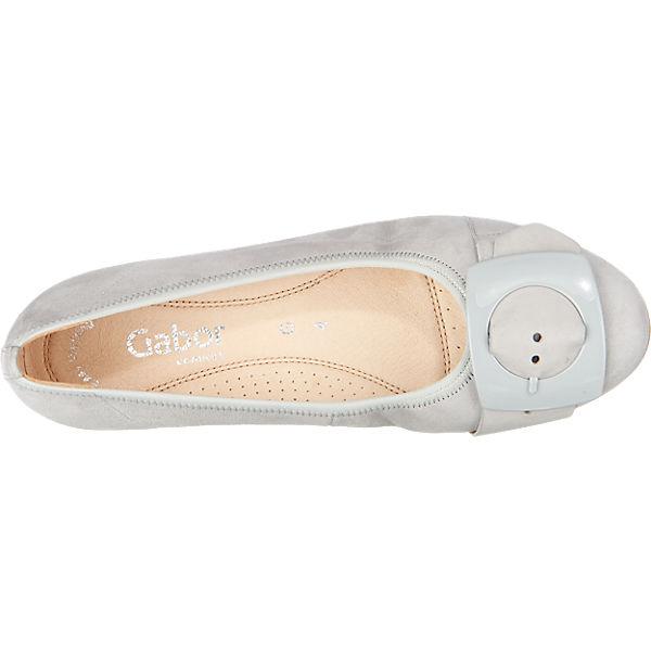 Gabor Ballerinas grau