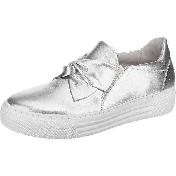 Gabor Sneakers silber