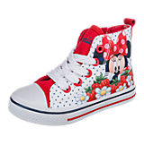 DISNEY MINNIE MOUSE Kinder Sneakers rot