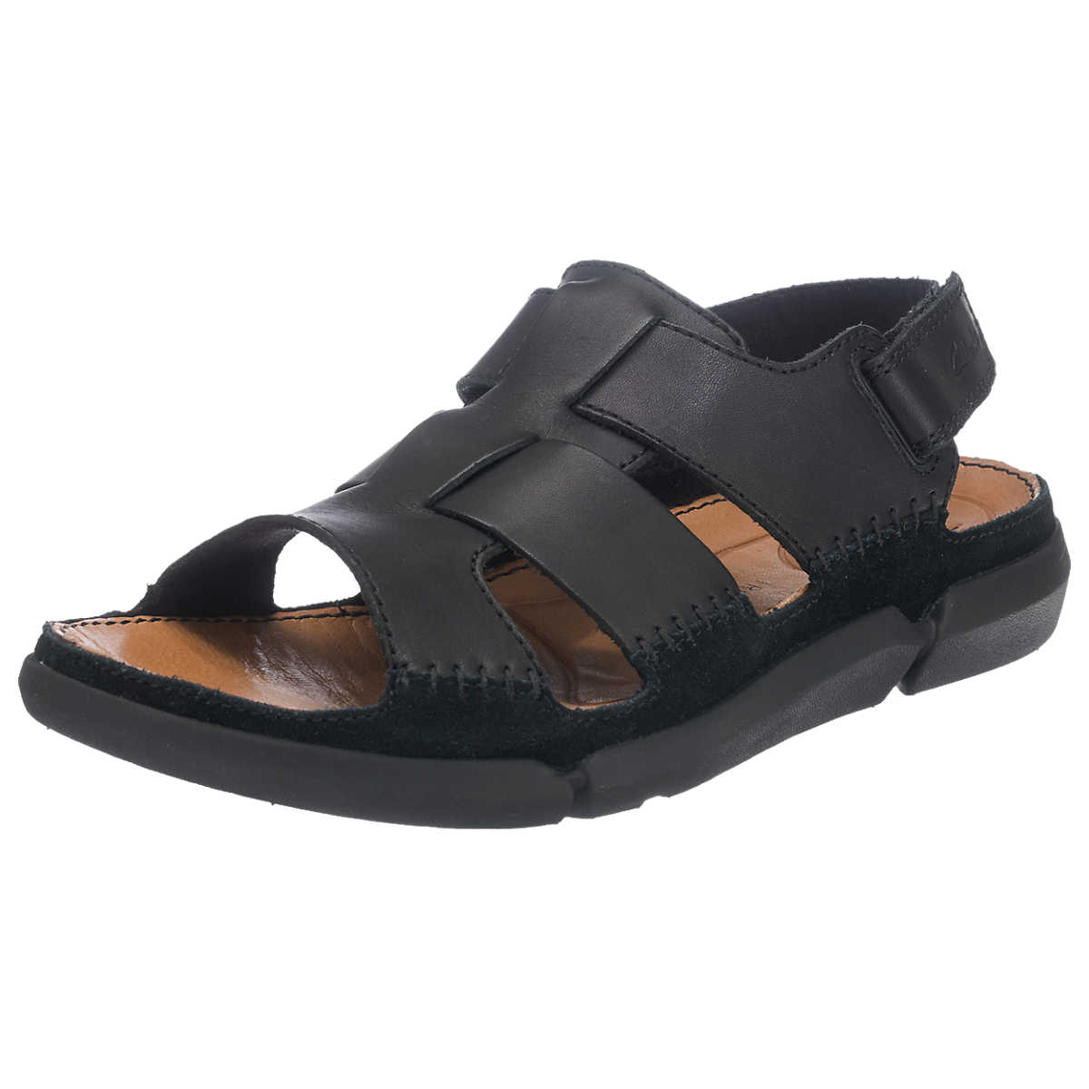 Clarks Trisand Bay Sandalen schwarz - Clarks - Sandalen - Schuhe - mirapodo.de